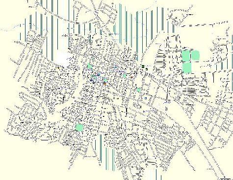 Подробная карта города Ла-Вега