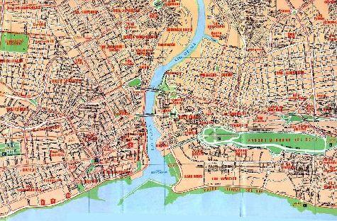 Карта восточной части Санто-Доминго