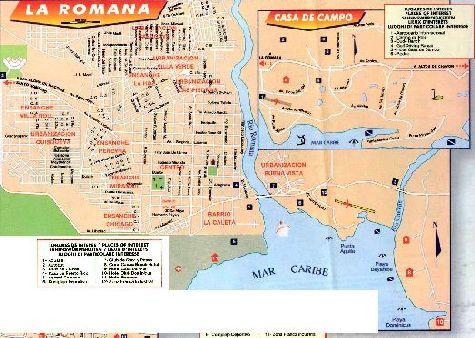Карта города Ла-Романа
