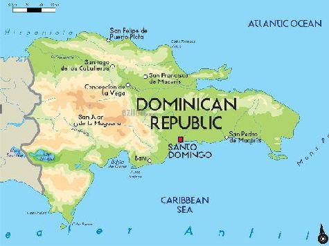 Территория Доминиканы занимает 2/3 часть острова