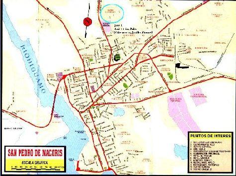 Карта г. Сан-Педро-де-Макори