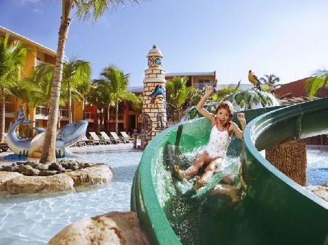 В отеле расположен детский аквапарк, однако будьте осторожны, так как некоторые горки могут нанести неприятные ссадины
