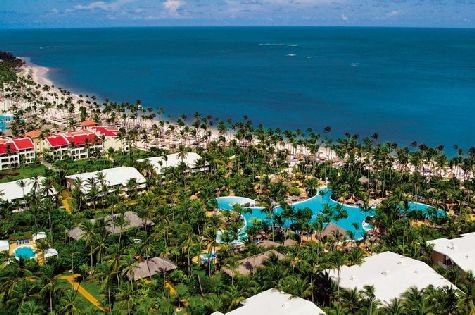 Melia Caribe Tropica обладает большой, красивой, зеленой территорией