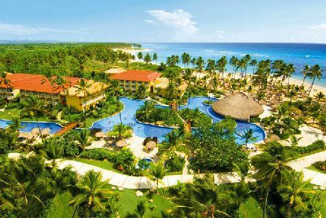 Отели в Доминикане обладают порой просто огромной территорией, где есть раздолье для детей и их досуга