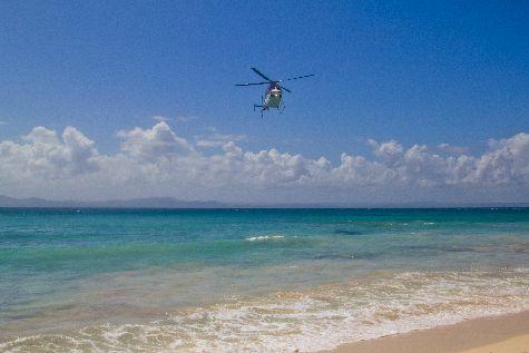 А может на вертолете? Здесь возможно и такое!