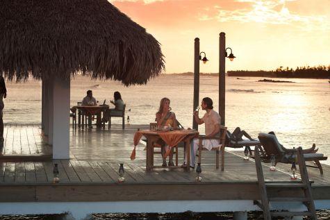 В Хуан-Долио нет недостатка романтических мест, где можно пообедать или поужинать
