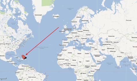 Пуэрто-Плата на карте мира
