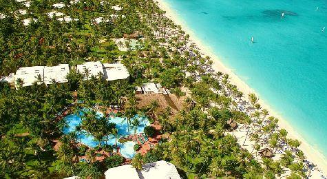Пляж Эль Кортесито при отеле Grand Palladium Bavaro Resort