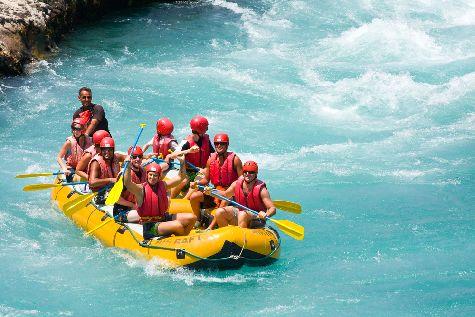 Многим придется по душе рафтинг по реке Яке-дель-Норте