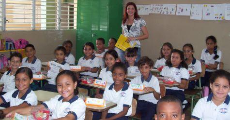 В Доминикане в начальных классах есть несколько обязательных предметов