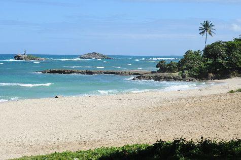 Золото песка и синева Атлантики - все это настраивает на романтический лад