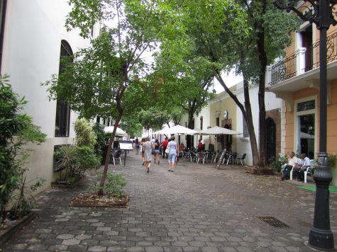 Считается, что именно улица Лас-Дамас является первой улицей в Америке, построенная по просьбе жены Колумба