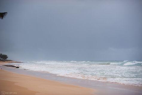 Влажная погода на побережье в Доминикане
